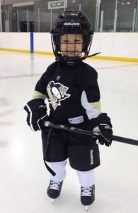 Reid the Hockey Player